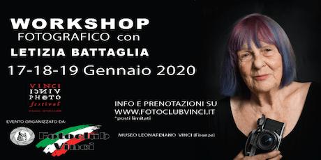 Workshop Fotografico con Letizia Battaglia al Foto Club Vinci biglietti