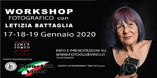 Workshop Fotografico con Letizia Battaglia al Foto Club Vinci