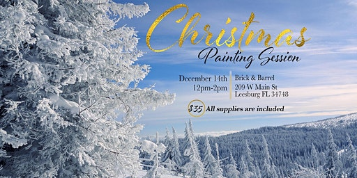 Christmas Painting Session