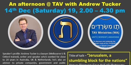 """""""Jerusalem: A stumbling block for the nations"""", latest update by Andrew Tucker."""
