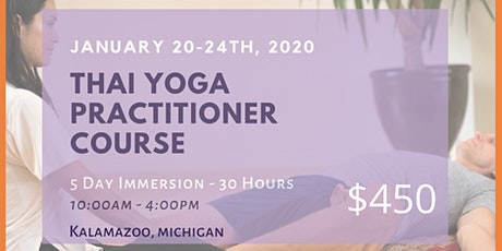Thai Yoga Practitioner Course tickets
