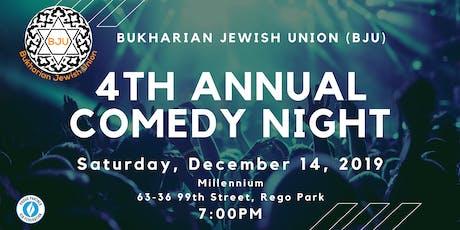 BJU's  4th Annual Comedy Night! tickets