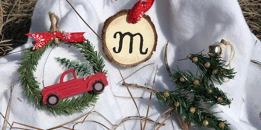 DIY Christmas Ornament Crafting