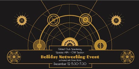 Holiday Networking Event  (APA CNY Section + Green Drinks) tickets