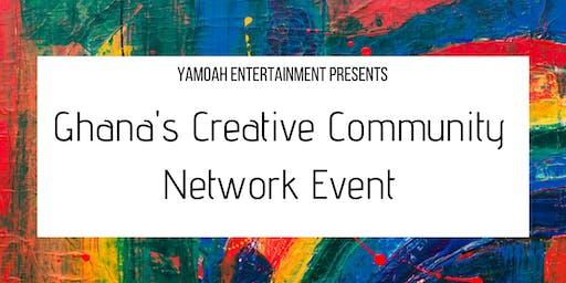 Ghana's  Creative Community Network Event
