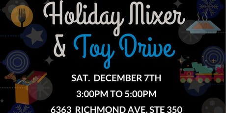 Houston Entertainment Industry Task Force Holiday Mixer and Toy Drive tickets