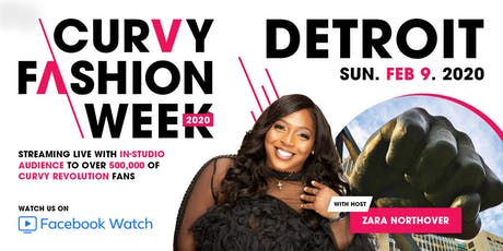 CURVY Fashion Week: Detroit Edition S/S 2020 tickets