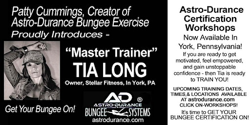 ASTRO-DURANCE 1-Day Master Trainer Bungee Workshop, Pennsylvania, Jan 18