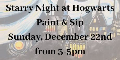 Paint & Sip: Starry Night at Hogwarts tickets