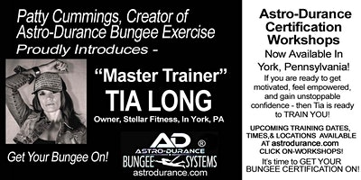 ASTRO-DURANCE 1-Day Master Trainer Bungee Workshop, Pennsylvania, April 18
