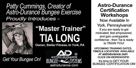 ASTRO-DURANCE 1-Day Master Trainer Bungee Workshop, Pennsylvania, April 18 tickets