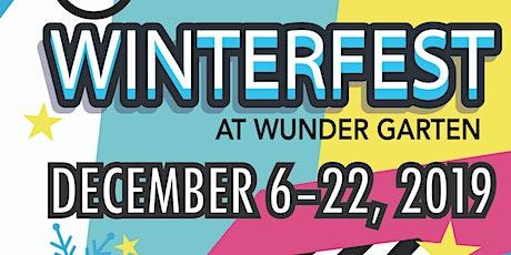 WINTERFEST at Wunder Garten tickets