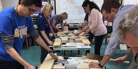 Creating in any Classroom! Woodworking for Teachers (Grades 3-8) tickets