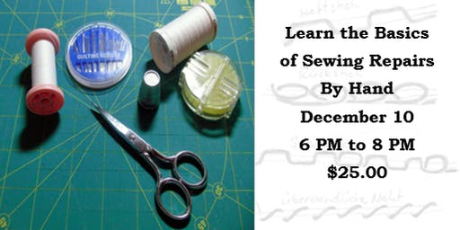 Learn the Basics of Sewing Repairs by Hand