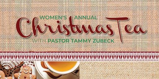 2019 Annual Women's Christmas Tea Party