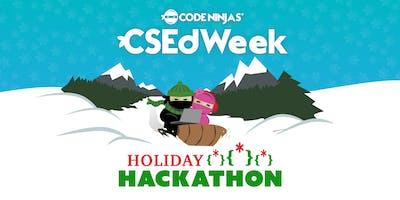CSEdWeek Holiday Hackathon CNCS