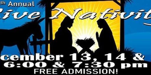 Trinity Baptist presents the 35th Annual Live Nativity