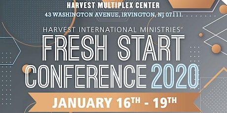 Fresh Start Conference 2020 tickets