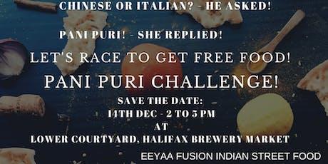 Pani Puri Challenge tickets