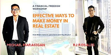 Effective Ways To Make Money In Real Estate tickets