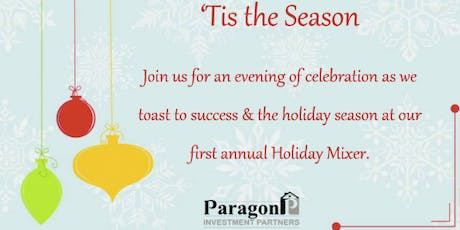 Paragon Partners 1st Annual Holiday Mixer tickets