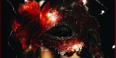 Red Lipstick & Cocktails Masquerade Dinner