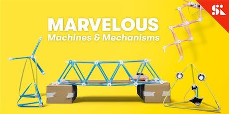Marvelous Machines & Mechanisms, [Ages 7-10], 9 Dec - 13 Dec Holiday Camp (2:00PM) @ Bukit Timah tickets