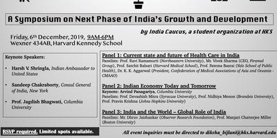 A Symposium on Next Phase of India's Growth and Development