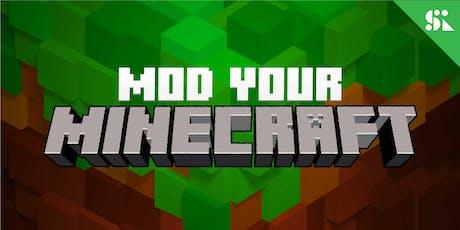 Mod & Hack 3D Games with Minecraft & Kodu, [Ages 7-10], 23 Dec - 28 Dec Holiday Camp (2:00PM) @ East Coast tickets