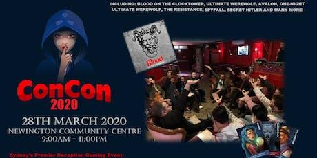 ConCon 2020 tickets
