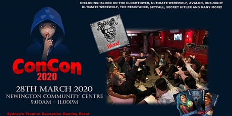 ConCon 2021 tickets