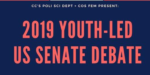 Youth-Led US Senate Candidate Debate