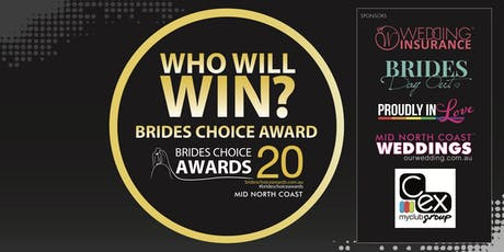 Mid North Coast Brides Choice Awards Gala Cocktail Party 2020 tickets