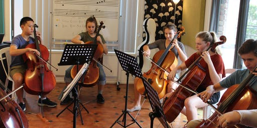Central Coast Strings: Advanced Cello Group January 2020