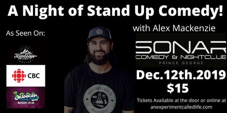 Stand up Comedy featuring Alex Mackenzie! tickets