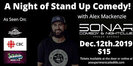 Stand up Comedy featuring Alex Mackenzie! tickets