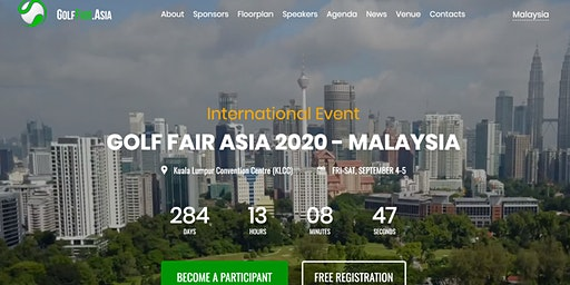 Golf Fair Asia 2020 - Malaysia (International Event)