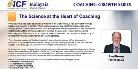ICF Coaching Growth Series: The Science at the Heart of Coaching tickets
