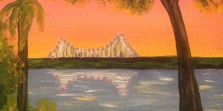 Paint and Sip Brisbane Southbank 2 for 1 offer  Storey Bridge Painting tickets
