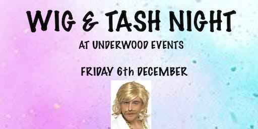 Wig & Tash Night  Live Band The Fonics