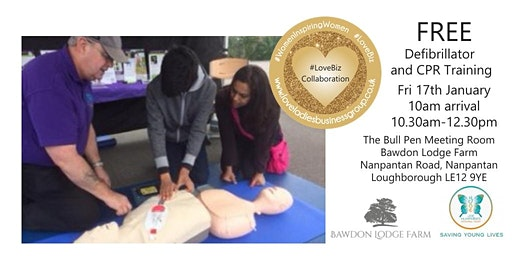 FREE Defibrillator & CPR Training
