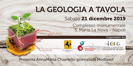 La geologia a tavola biglietti