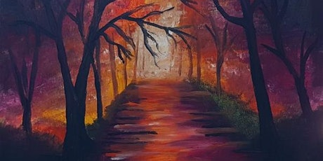 Paint and sip Brisbane 2 for 1 offer southbank Forest Walk tickets