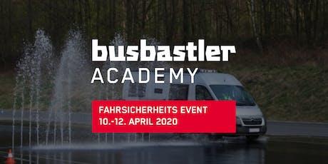 Busbastler Academy - Fahrsicherheitsevent Tickets