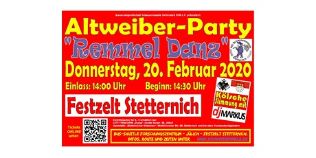 Remmel Danz - Altweiber-Party Tickets