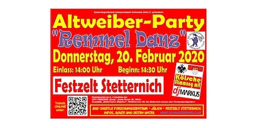 Remmel Danz - Altweiber-Party