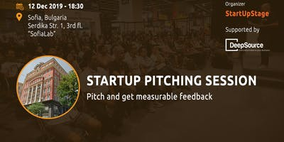 Startup Pitching Session