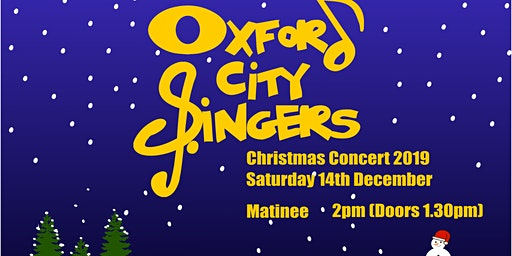 Oxford City Singers Christmas Concert 2019 Matinee