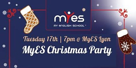 MyES Christmas Party: Speak English, Be Merry, Have Fun! tickets
