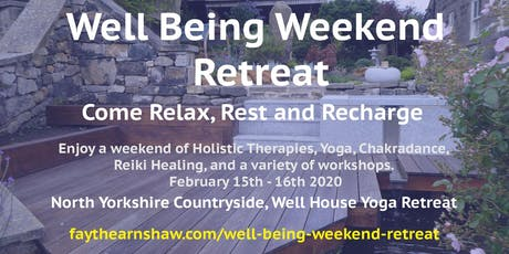 North Yorkshire Weekend Retreat tickets